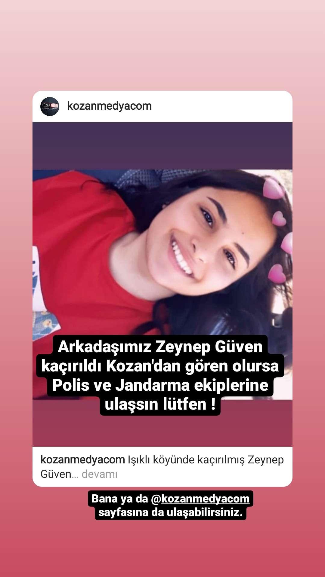 Kayıp Çocuk! Adana/kozan IŞIKLI köyü