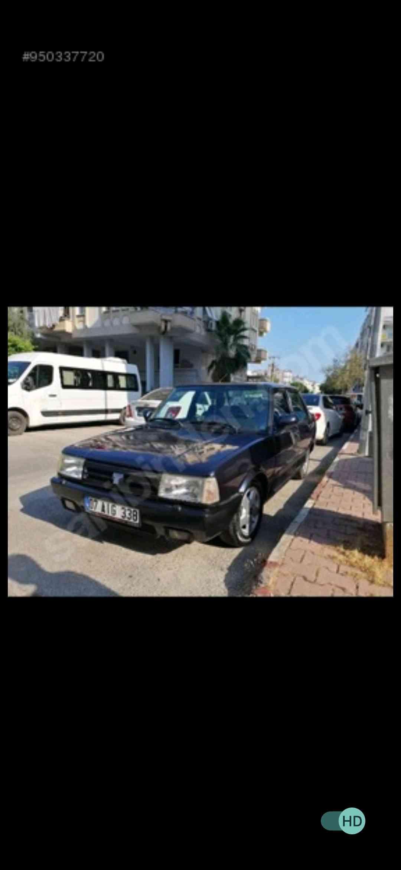 Antalya merkez Kepez civarı Doğan slx aracım çalındı